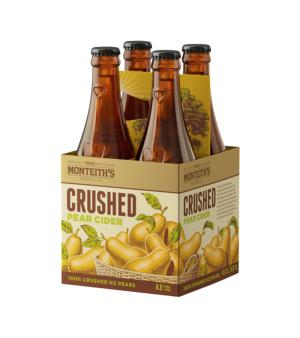 Monteiths Crushed Pear Cider 4pk