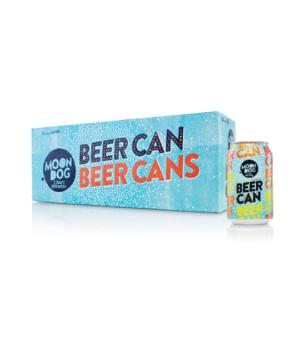 Moon Dog Beer Can 10pk