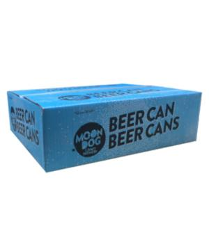 Moon Dog Beer Can Case 30