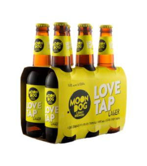 Moon Dog Love Tap Lager Stubbies 6pk
