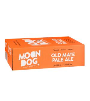 Moon Dog Old Mate Pale Ale Cans Case 24