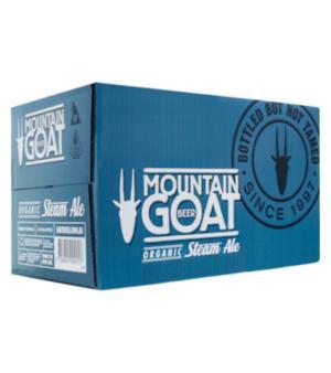 Mountain Goat Organic Steam Ale Stubbies Case 24