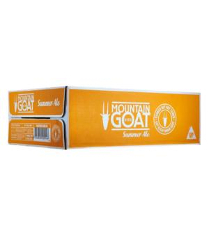 Mountain Goat Summer Ale Can Case 24