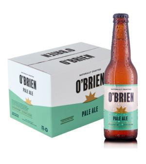 Obrien Pale Ale Gluten Free Stubbies Case 24
