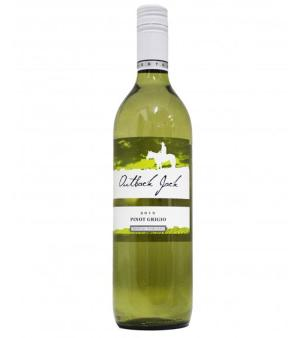 Outback Jack Pinot Grigio 6 Case
