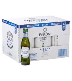 Peroni Libera Stubbies Case 24