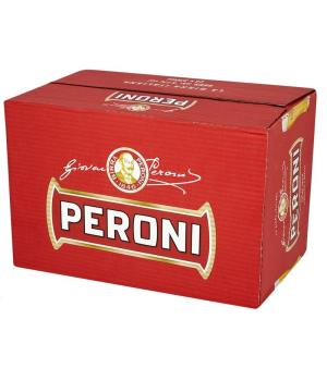 Peroni Red Stubbies Case 24