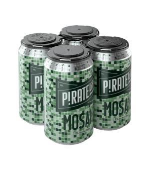 Pirate Life Mosaic Can 4pk