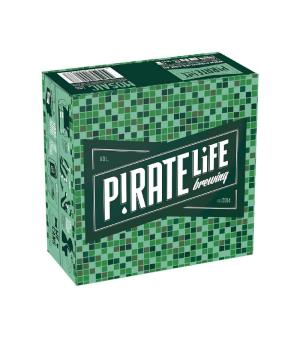 Pirate Life Mosaic Can Case 16