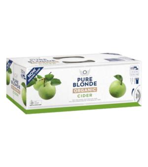 Pure Blonde Organic Apple Cider Can 10pk