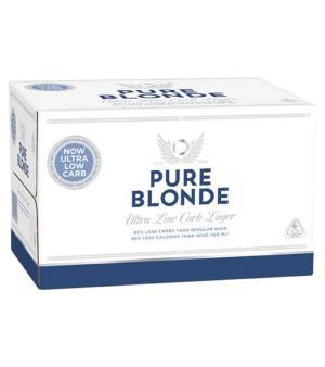 Pure Blonde Stubbies Case 24