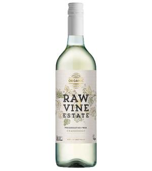 Raw Vine Estate Preservative Free Chardonnay 6 Case