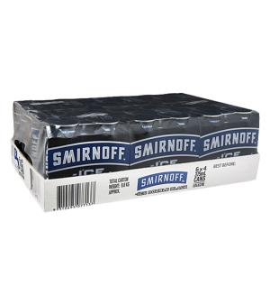 Smirnoff Double Black Cans 24pk