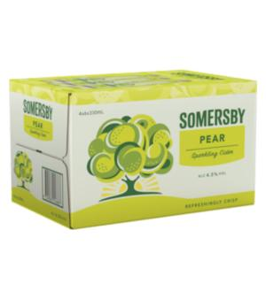 Somersby Pear Cider Stubbies 24 Case