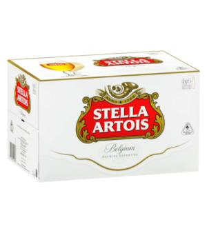 Stella Artois Beer Stubbies Case 24