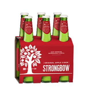 Strongbow Classic Cider Stubbies 6pk