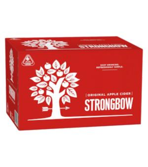 Strongbow Classic Cider Stubbies Case 24