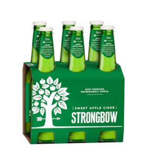 Strongbow Sweet Cider Stubbies 6pk