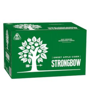 Strongbow Sweet Cider Stubbies Case 24
