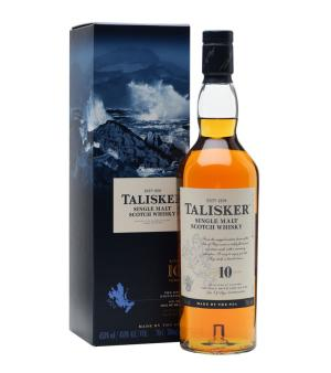 Talisker 10 Year Single Malt Scotch 700ml