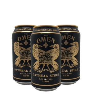 The Grifter Omen Oatmeal Stout Can Case 24