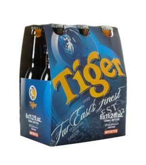Tiger Stubbies 6pk