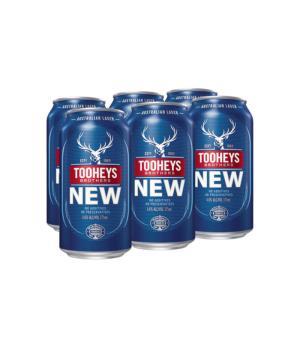 Tooheys New Cans 6pk