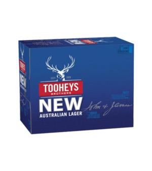 Tooheys New Cans Case 24