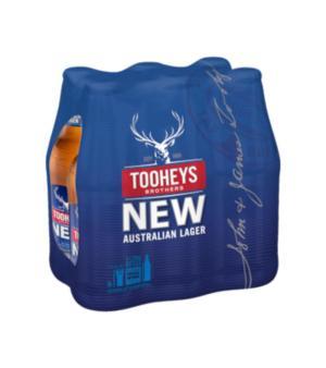 Tooheys New Stubbies 6pk