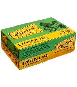 Wayward Brewing Co. Everyday Ale Case 24