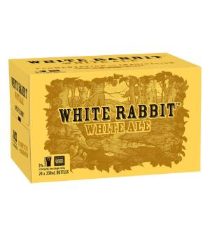 White Rabbit White Ale Case 24