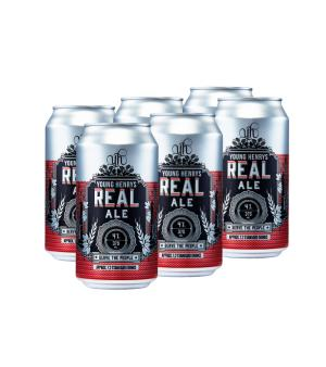 Young Henrys Real Ale Can Case 24